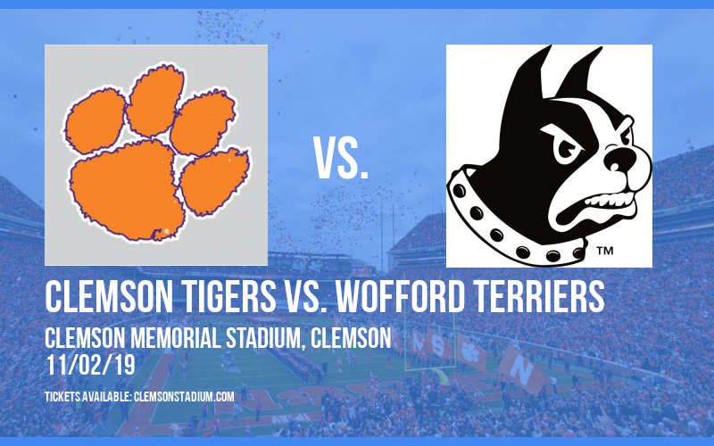 Clemson Tigers vs. Wofford Terriers at Clemson Memorial Stadium