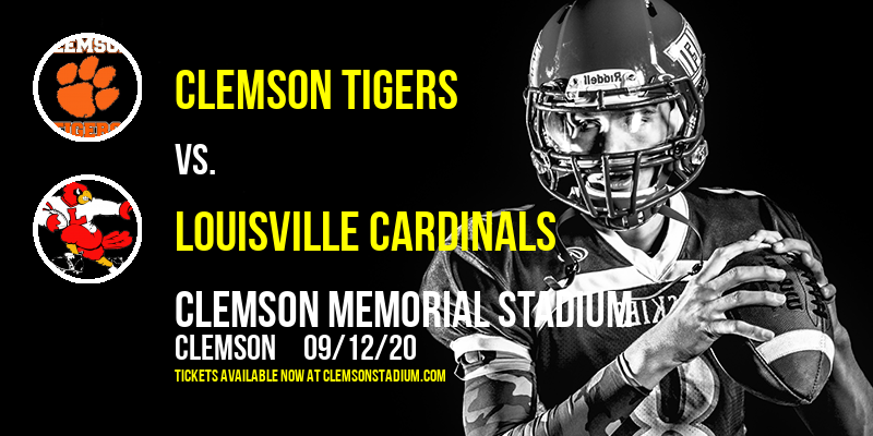 Clemson Tigers vs. Louisville Cardinals at Clemson Memorial Stadium