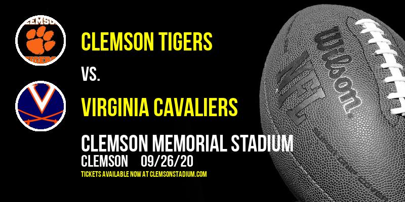 Clemson Tigers vs. Virginia Cavaliers at Clemson Memorial Stadium