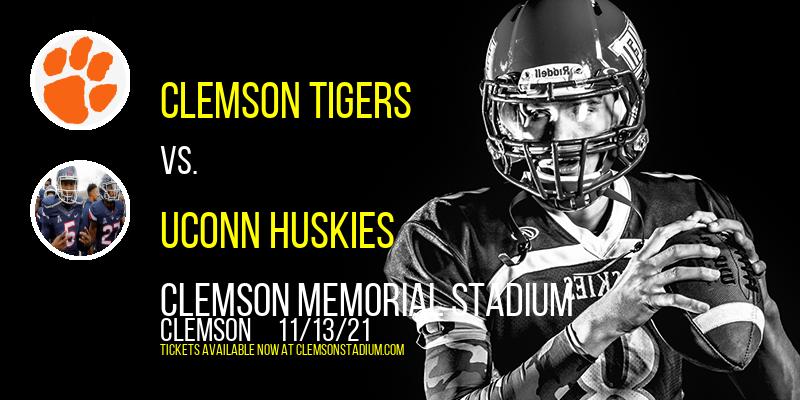 Clemson Tigers vs. UConn Huskies at Clemson Memorial Stadium